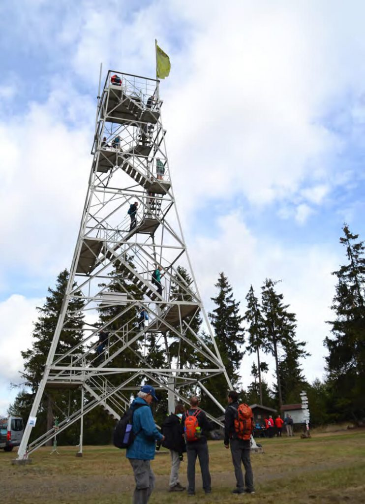 Höchste Erhebung im Frankenwald: Der Döbraberg