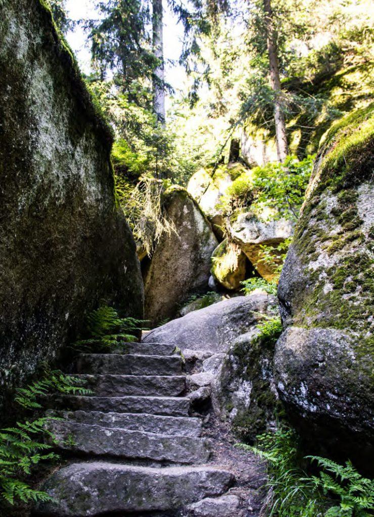 Zauberwelt aus Steinen: Das Felsenlabyrinth