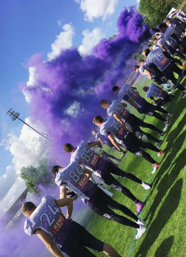 American Football in Hof: Die Jokers und ihre Purple Pride