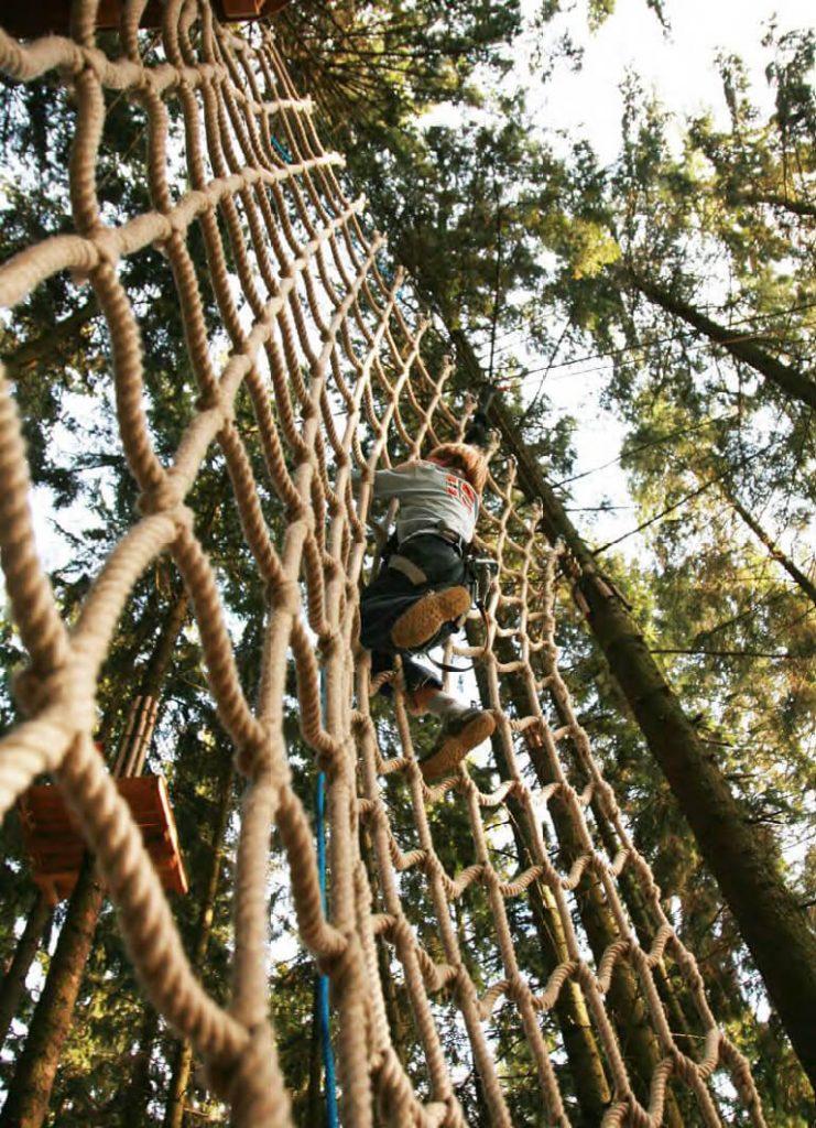 Kletterpark, Labyrinth, Drachenboot: Action am Untreusee