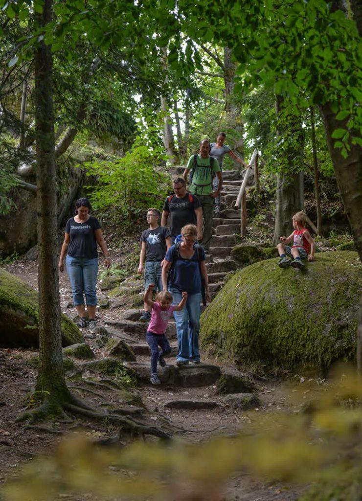Wildromantisch wandern: Der Fränkische Gebirgsweg