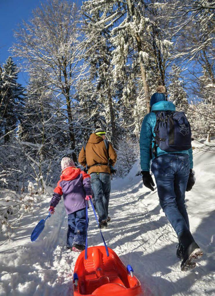 Rodeln im Fichtelgebirge: Winterspaß für alle