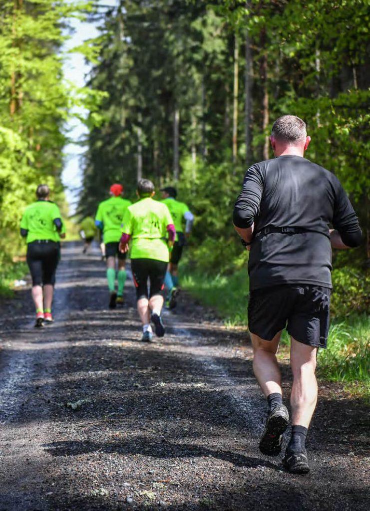 Kurzweil auf der Langstrecke: Marathons in Hochfranken