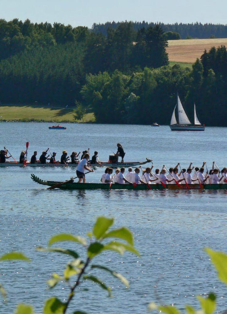 Zu Wasser und in der Luft: Sport zum Staunen