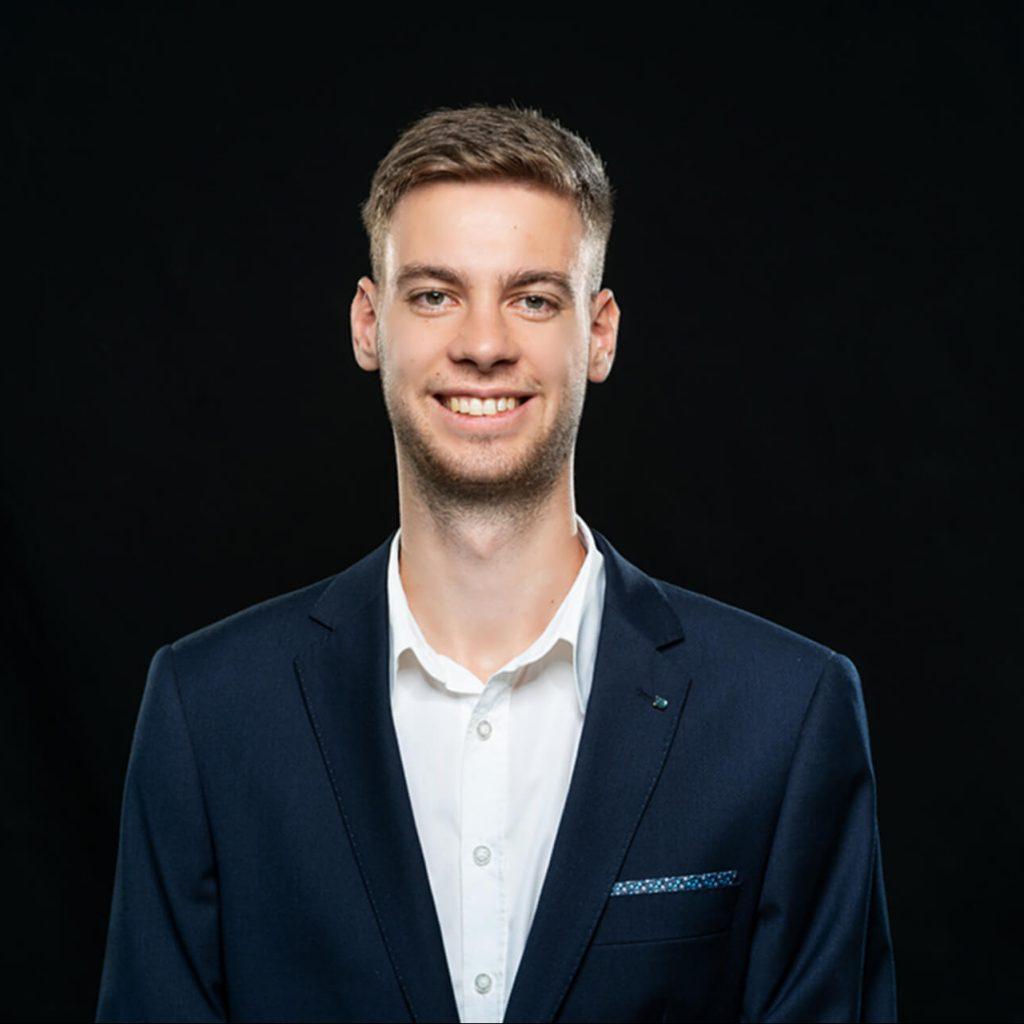 Student Sven Scherer